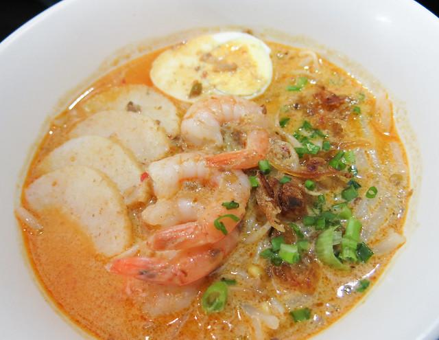 Laksa at Singapore Food Street