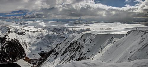 mountain landscape scotland cairngorms munro