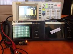 B&W NTSC video from an AVR