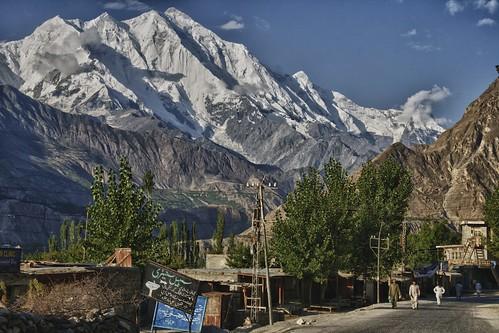 pakistan tourism landscape hunza