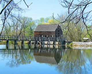Bridge and Barn Reflection