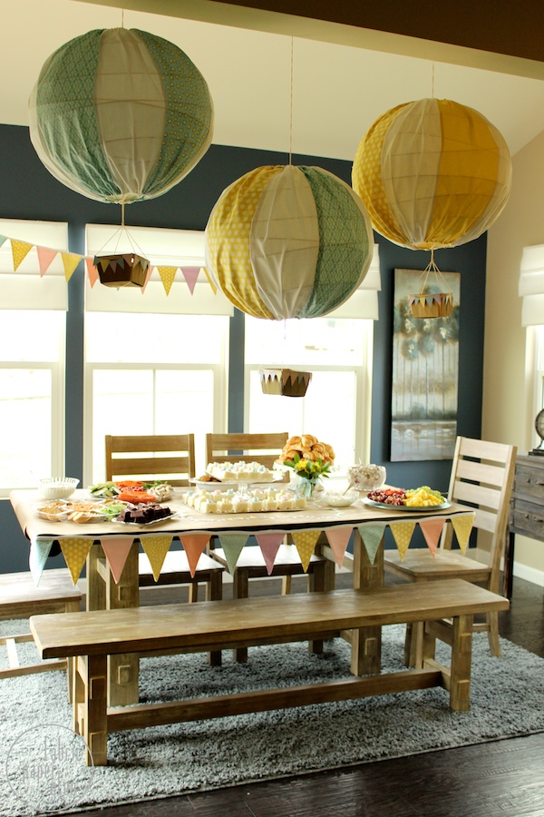 DIY Hot Air Balloons 6