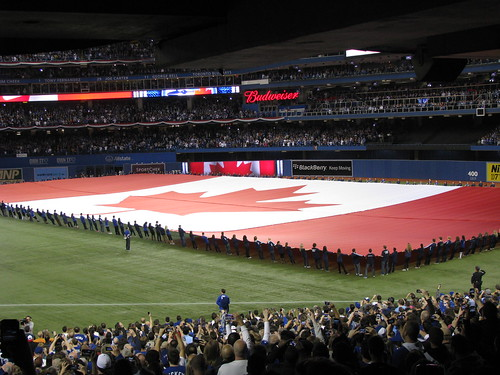 Opening Day Rogers Centre - Toronto