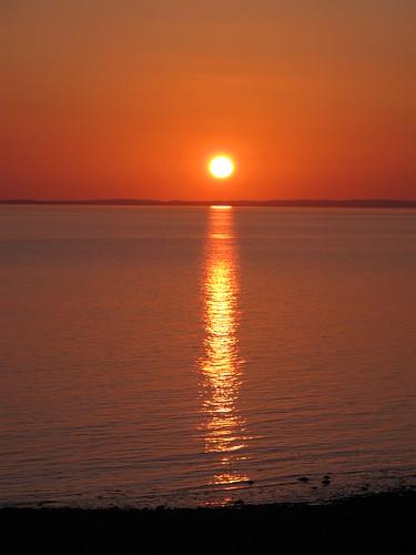 sunset sea sky timelapse galloway g11 lucebay barsalloch