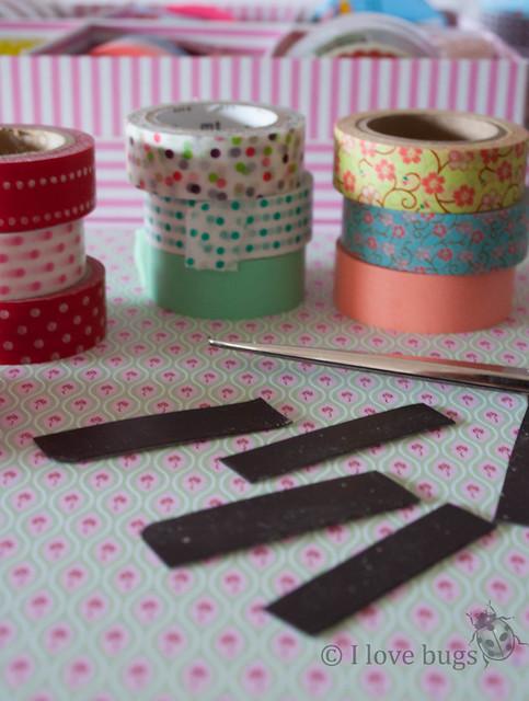 Imanes de washi tape