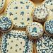 Delft Pottery Cookies by SweetAmbsCookies