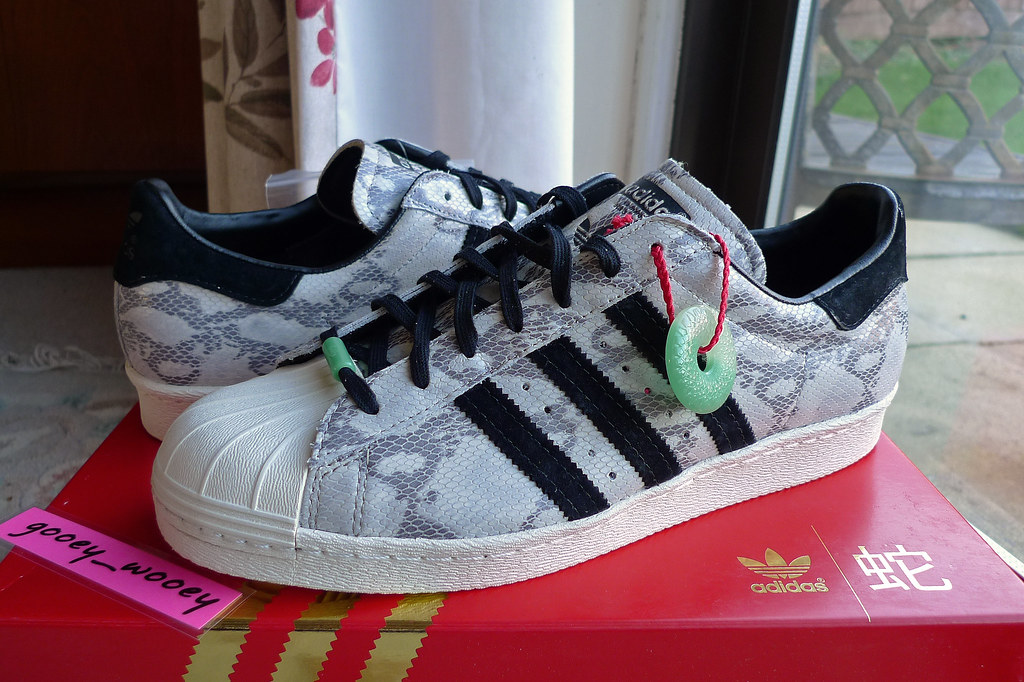 premium selection 0f408 009fc Adidas Superstar 80s CNY 'Chinese New Year - Snake' ('13 ...