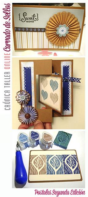 Cronica taller carvado postales