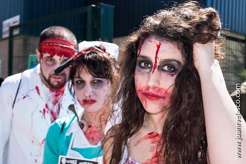 Trío de zombies