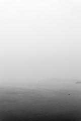 """霧中尋 Seek amidst the fog"" / 寧 Serenity / SML.20130414.6D.00615.BW"