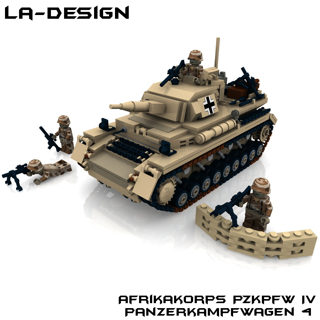 Lego Custom Ww2 Pzkpfw 4 Panzer Tank Minifig A Photo On Flickriver