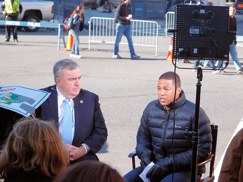 Boston Police Commissioner Ed Davis on CNN by brooksbos