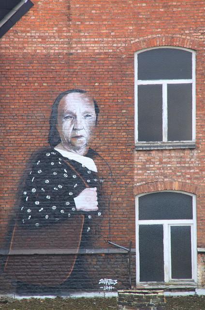 Muurschildering Leuven