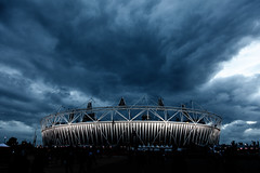 Dark Olympic Stadium