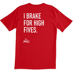I Brake for High Fives