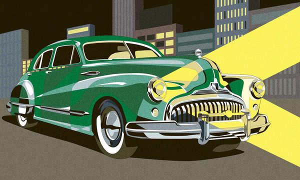 dibujo de autos