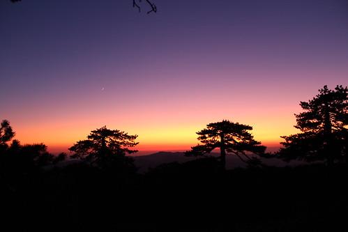 sunset nightshot cyprus trail artemis troodos
