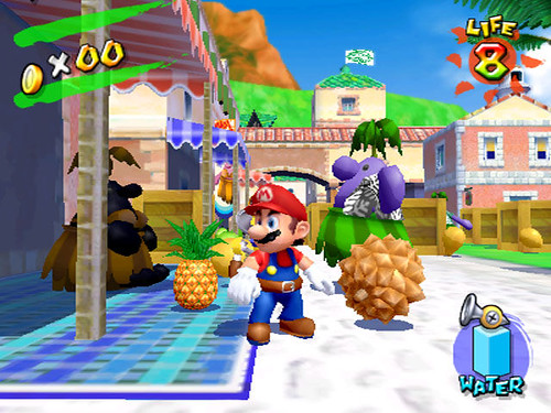 Mario odrzutowiec