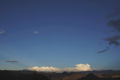 sunset moon clouds desert moonrise anticrepuscularrays awesomesauce timelapses embudovalley