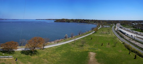 Little Bay Park facing East Panorama, NY