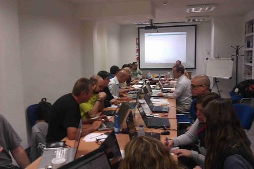 Curs xarxes socials per l´acció sindical 2013 impartit a Madrid, per secretari de Comunicació de CGT Catalunya