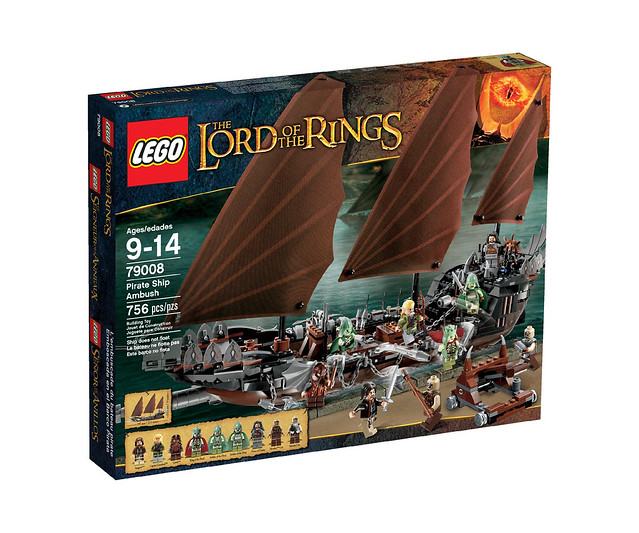 LEGO The Lord of the Rings 79008 - Pirate Ship Ambush - BoxArt