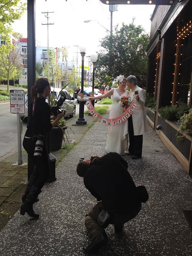 Paparazzi and the Brides