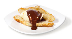 meal, breakfast, belgian waffle, produce, food, dish, dessert, cuisine,