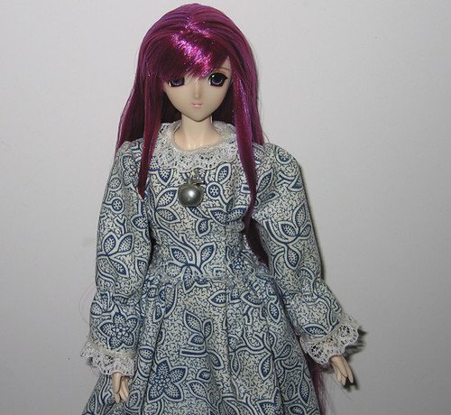 Fara, my rerooted Volks Towa Setsuna. by Leenechan