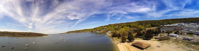 KAP at Scudder Beach Panorama, NY