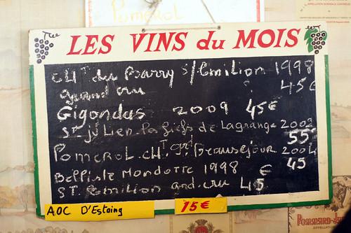 Les vins du mois