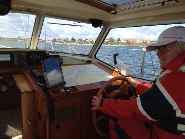 segla från hamn till hamn utomskärs