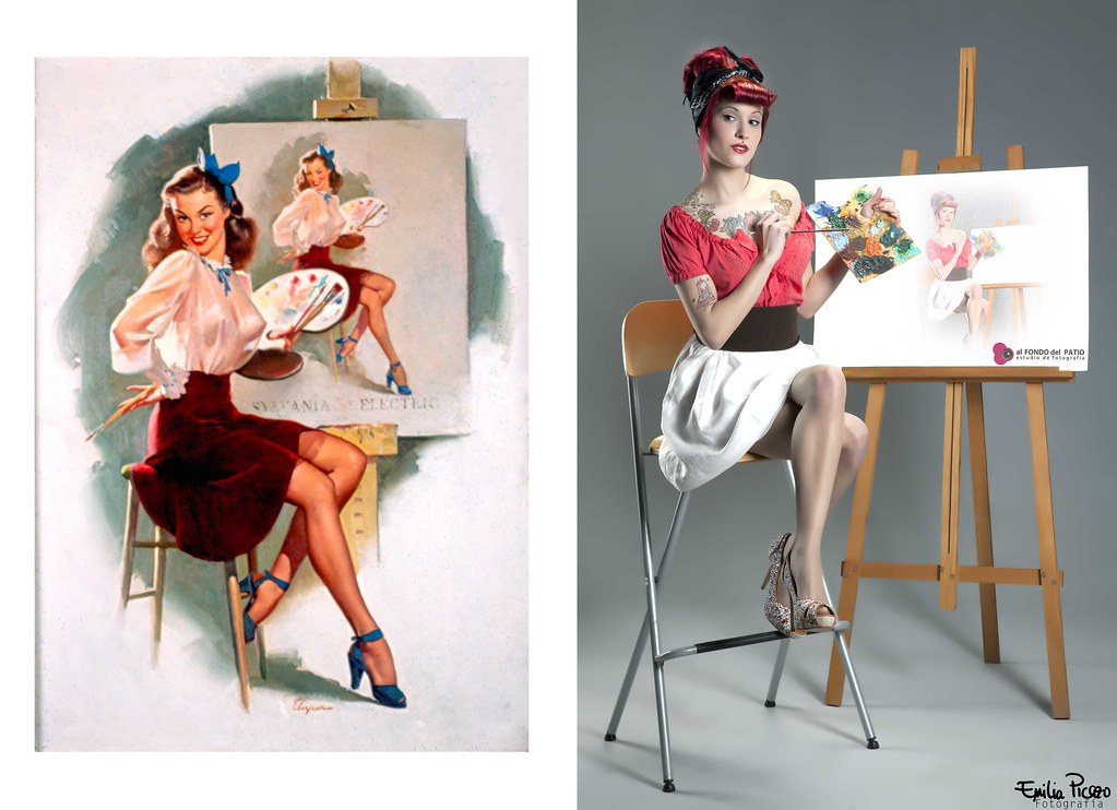 Pin-up: picture
