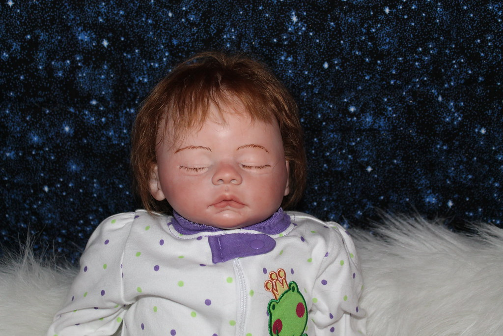 Sweet Pea Babie's Nursery Reborn Doll Sweet Baby Girl Meg by Marissa May