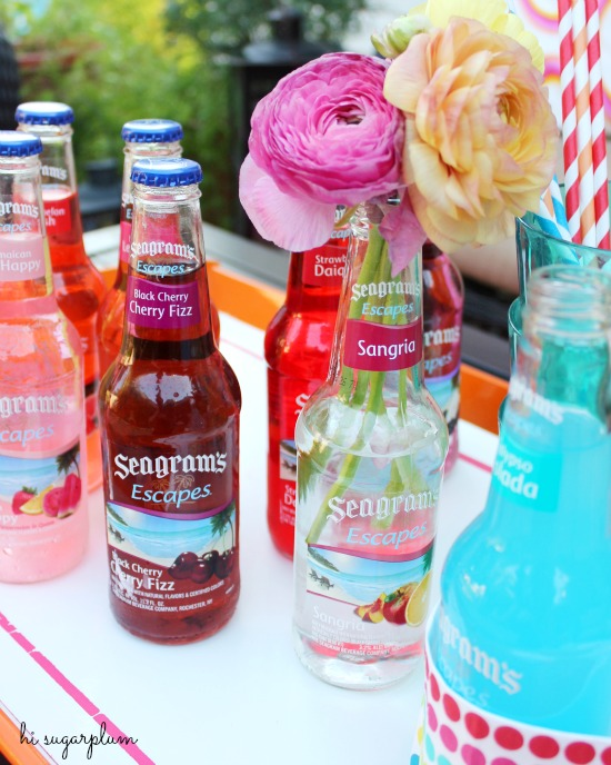 Hi Sugarplum | Seagrams Pool Party