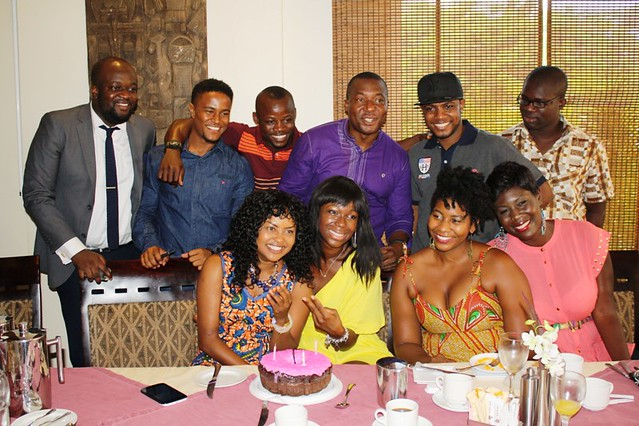 5Ama K. Abebrese birthday party