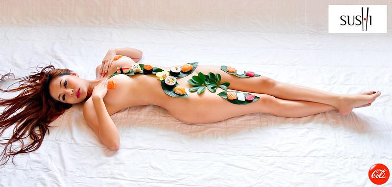 Chiêm ngưỡng bộ ảnh nuy 100% đẹp cùng sushi Nhật Bản