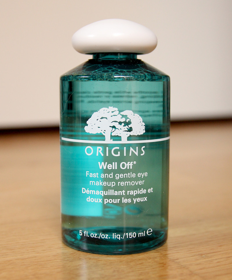 Origins well off fast and effective eye makeup remover