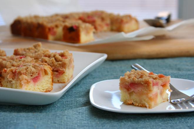 rhubarb cake 5