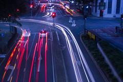 Brisbane traffic trails