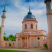 Turkish style Pink Mosque at Schloss Schwetzingen Palace Landscape Gardens - Germany