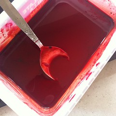 Blood making...
