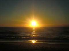 burleigh heads夕陽