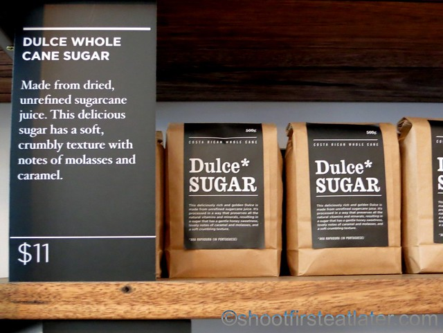 Market Lane Coffee- dulce whole cane sugar