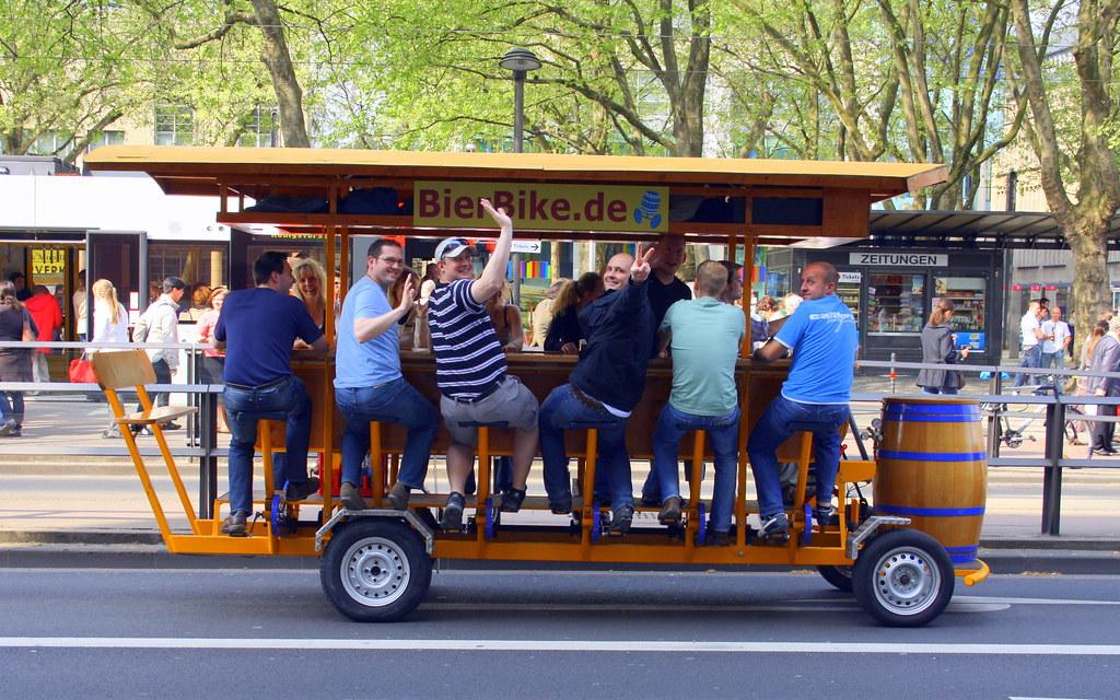 Beer Bike - Drink & Drive :)