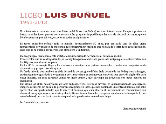 Historia gr�fica del LELB: 1962-2013