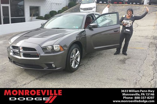 Thank you to Teressa Jones on your new car  from Frank Mcdevitt and everyone at Monroeville Dodge! #LoveMyCar by Monroeville Dodge