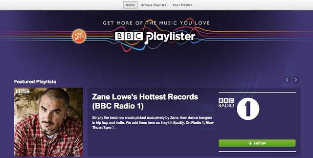 BBC Playlister_spotify