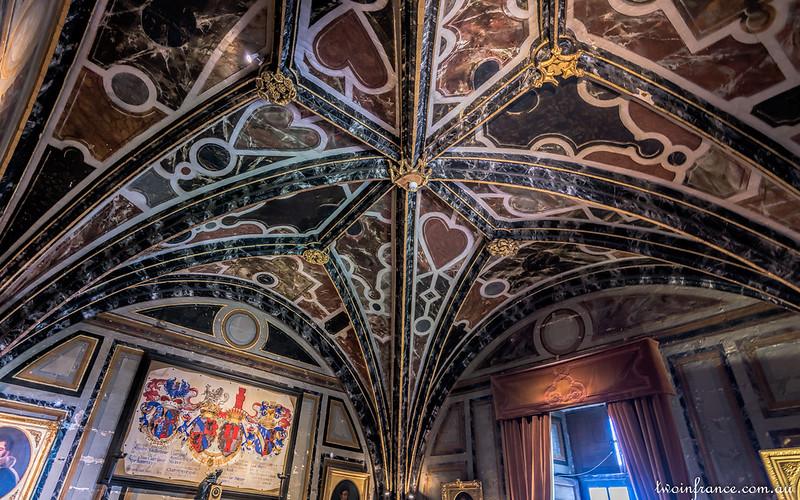 Guardroom Ceiling - Château d'Ussé