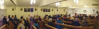 141114 - 60th Anniversary Mass - St Ambrose - Wye